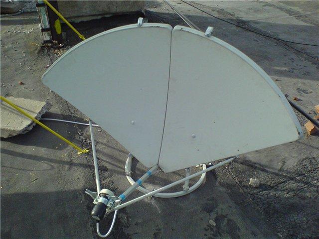Сделать спутниковая антенна своими руками 944